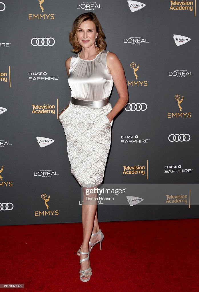 Brenda Strong attends the Television Academy reception for Emmy Nominees at Pacific Design Center on September 16, 2016 in West Hollywood, California.