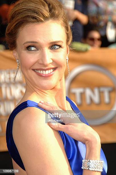 Brenda Strong during 12th Annual Screen Actors Guild Awards Arrivals at Shrine Auditorium in Los Angeles CA United States