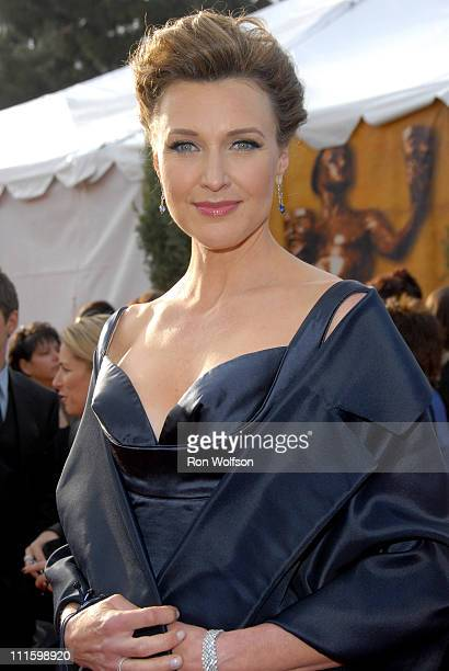 Brenda Strong during 13th Annual Screen Actors Guild Awards Arrivals at Shrine Auditorium in Los Angeles California United States