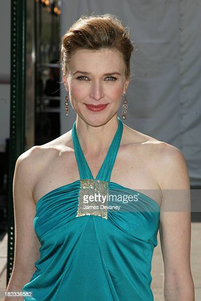 Brenda Strong during 2005/2006 ABC UpFront Outside Arrivals at Lincoln Center in New York City New York United States