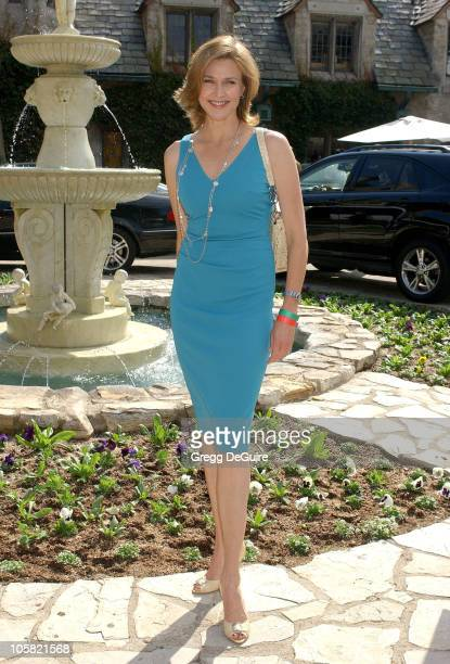 Brenda Strong during 2006 Safari Brunch Fundraiser For The Wildlife Waystatiion at Playboy Mansion in Los Angeles California United States