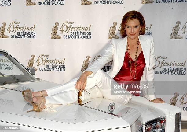Brenda Strong during 45th Monte Carlo Television Festival Desperate Housewives Photocall at Grimaldi Forum in Monte Carlo Monaco