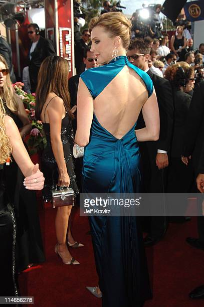 Brenda Strong during 57th Annual Primetime Emmy Awards Red Carpet at The Shrine in Los Angeles California United States