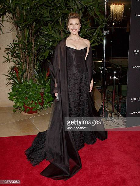 Brenda Strong during 7th Annual Costume Designers Guild Awards Arrivals at Beverly Hilton Hotel in Beverly Hills California United States
