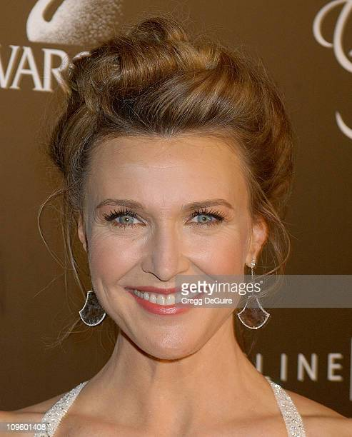 Brenda Strong during 8th Annual Costume Designers Guild Awards Gala Arrivals at Beverly Hilton Hotel in Beverly Hills California United States