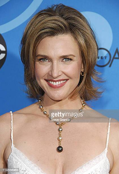 Brenda Strong during ABC All Star Party 2006 Arrivals at Rose Bowl in Pasadena California United States