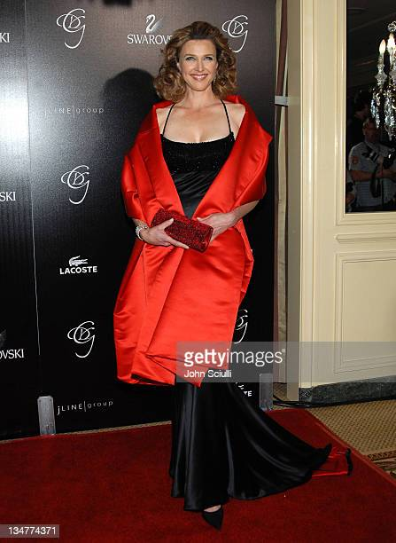 Brenda Strong during Costume Designer's Guild Awards Arrivals at The Beverly Wilshire Hotel in Beverly Hills California United States