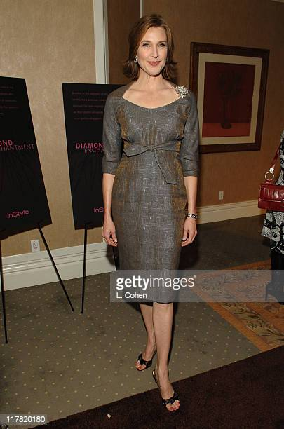 Brenda Strong during Diamond Information Center and InStyle Host 6th Annual Awards Season Diamond Fashion Show Preview at Beverly Hills Hotel in...