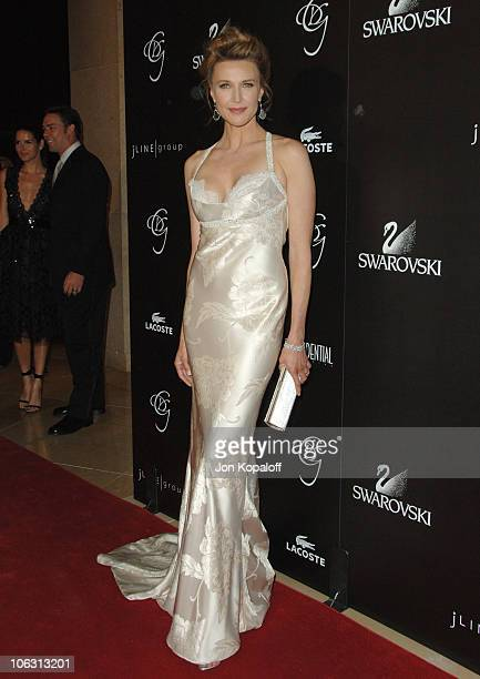 Brenda Strong during Eighth Annual Costume Designers Guild Awards Gala Arrivals at Beverly Hilton Hotel in Beverly Hills California United States