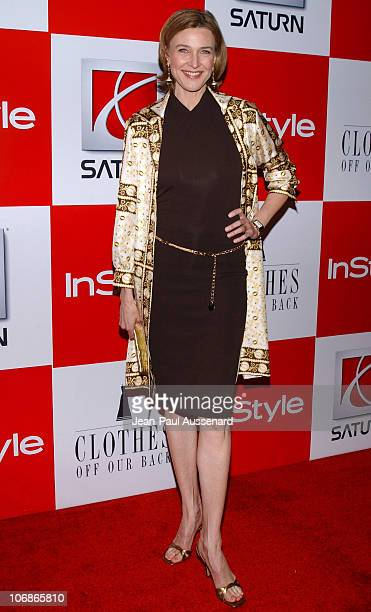 Brenda Strong during In Style Presents Saturn and Clothes Off Our Back Charity Event Arrivals at Republic in Los Angeles California United States