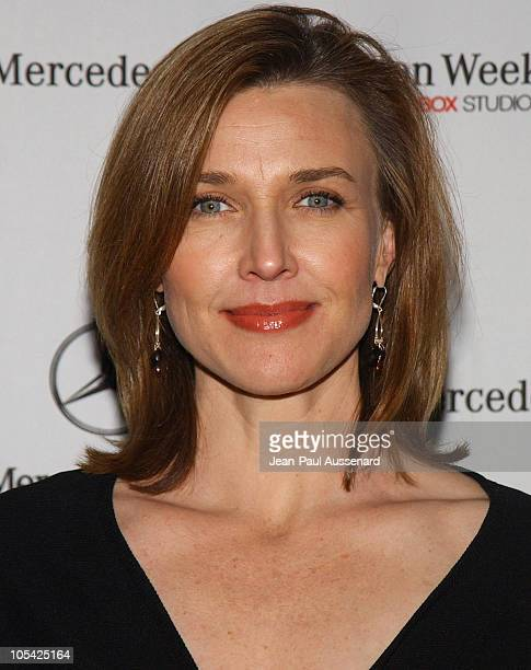 Brenda Strong during MercedesBenz Fall 2005 Fashion Week at Smashbox Studios Day 1 Arrivals at Smashbox Studios in Culver City California United...