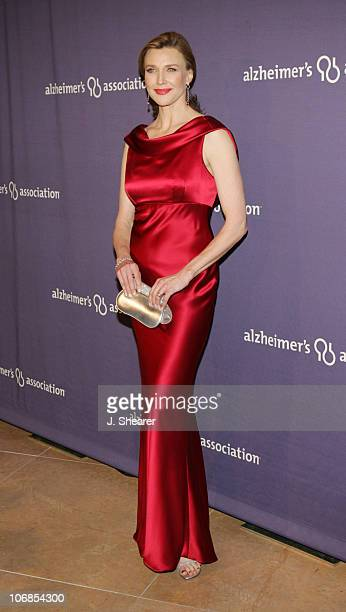 Brenda Strong during The Alzheimer's Association's 13th Annual A Night At Sardi's Celebrity Fundraiser Arrivals at The Beverly Hilton in Beverly...