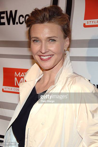 Brenda Strong during The Entertainment Weekly/Matrix Men Upfront Party Roaming and Arrivals at The Manor in New York City New York United States