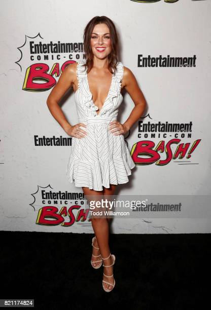 Brenda Swann at Entertainment Weekly's annual ComicCon party in celebration of ComicCon 2017 at Float at Hard Rock Hotel San Diego on July 22 2017 in...