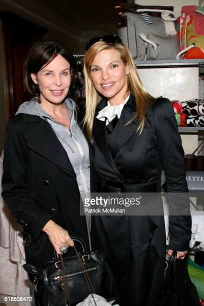 Brenda von Schweickhardt and Andrea Hissom attend AMERICANA MANHASSET Fashion Fete to Benefit GABRIELLE's ANGEL FOUNDATION for CANCER RESEARCH at...