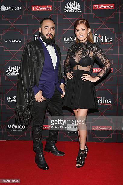 Brenda Zambrano and guest attend Los Bellos de TvYNovelas 2016 at Bosque de Chapultepec on August 31 2016 in Mexico City Mexico