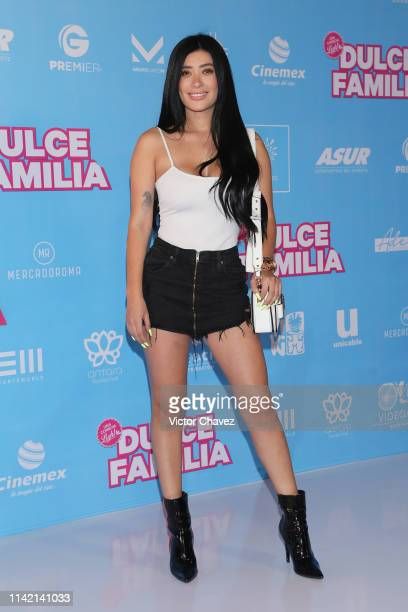 Brenda Zambrano attends the 'Dulce Familia' premiere at Cinemex Antara Polanco on May 7 2019 in Mexico City Mexico