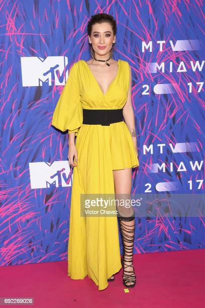 Brenda Zambrano of Acapulco Shore attends the MTV MIAW Awards 2017 at Palacio de Los Deportes on June 3 2017 in Mexico City Mexico