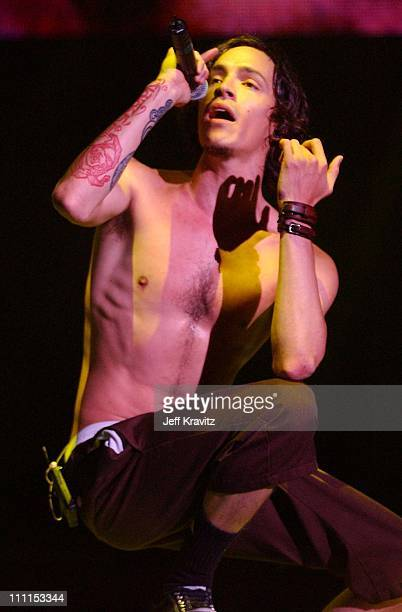 Brendan Boyd of Incubus during 10th Annual KROQ Weenie Roast at Irvine Meadows in Irvine California United States
