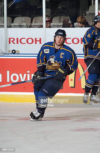 Brendan Buckley of the Peoria Rivermen skates against the Toronto Marlies at Ricoh Coliseum on February 3 2006 in Toronto Ontario Canada The Rivermen...
