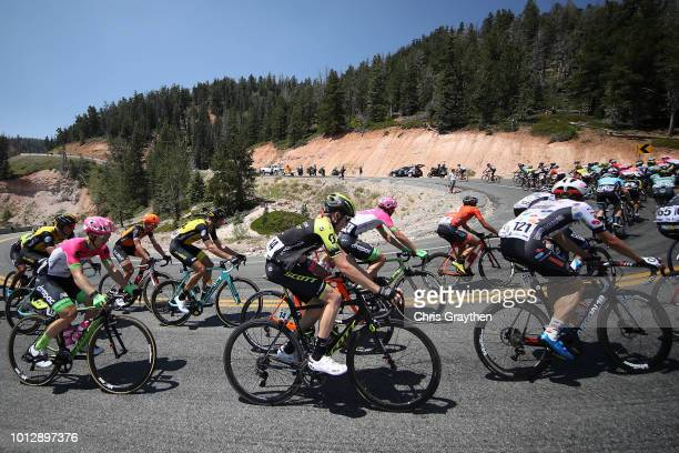 Brendan Canty of Australia and Team EF Education FirstDrapac p/b Cannondale / Lucas Hamilton of Australia and Team Mitchelton Scott / Taylor Shelden...