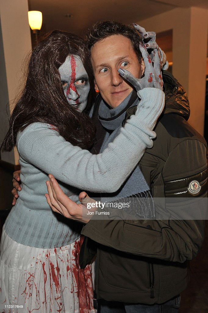 Brendan Cole attends the launch of SAW Alive - the World's most extreme live horror maze at Thorpe Park on March 9, 2010 in Chertsey, England.