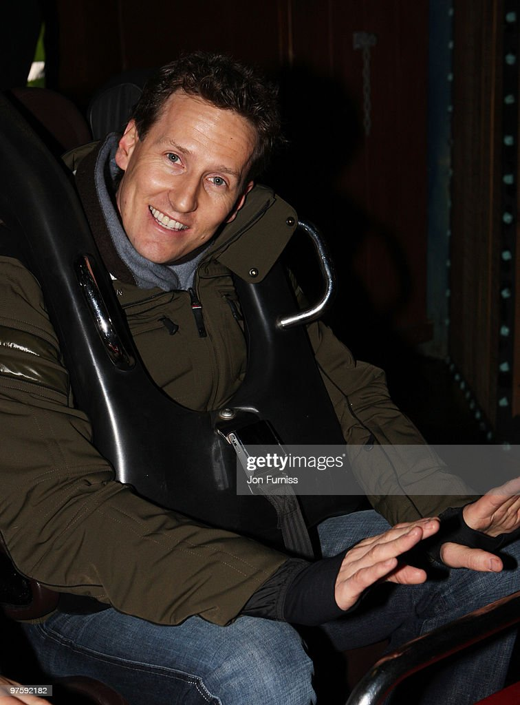 ACCESS** Brendan Cole attends the launch of SAW Alive - the world's most extreme live horror maze at Thorpe Park on March 9, 2010 in Chertsey, England.