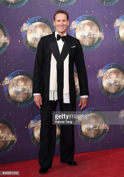Brendan Cole attends the 'Strictly Come Dancing 2017' red carpet launch at Broadcasting House on August 28 2017 in London England