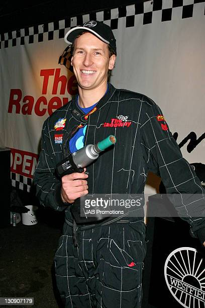 Brendan Cole during GoKarting Extravaganza Hosted by Rick Parfitt Jr at Kings Cross GoKart Track in London Great Britain