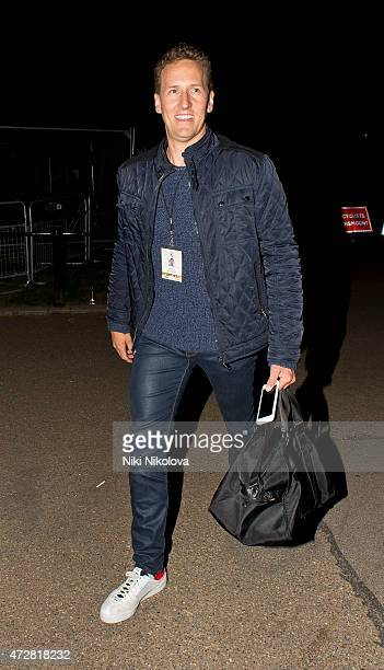 Brendan Cole is seen leaving the V Day Concert on May 09 2015 in London England