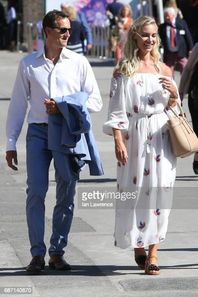 Brendan Cole seen at the Chelsea Flower Show VIP day on May 22 2017 in London England