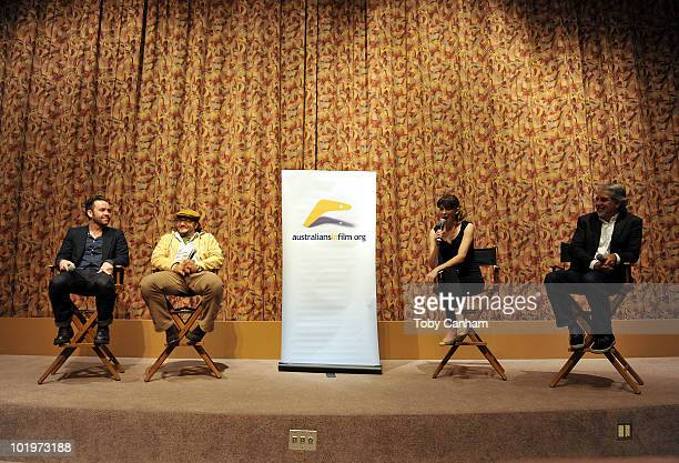 Brendan Cowell Jeremy Sims Elissa Down and David Roach on June 10 2010 in Beverly Hills California