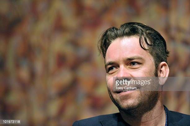 Brendan Cowell participates in a QA at the Australians In Film screening of Beneath Hill 60 on June 10 2010 in Beverly Hills California