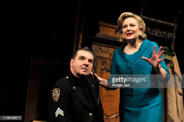 Brendan Coyle as Victor Franz and Sara Stewart as Esther Franz in in Theatre Royal Bath's production of Arthur Miller's The Price directed by...