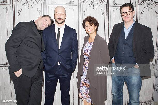 Brendan Coyle Canadian Actor MarcAndre Grondin Emmy and Golden Globe nominated producer Rola Bauer and Ed McCardie discuss Esquire's first scripted...