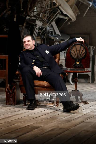 Brendan Coyle during a photocall for The Price at Wyndhams Theatre on February 07 2019 in London England