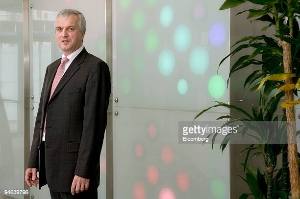 Brendan Cummins chief operating officer Ciba Specialty Chemicals AG poses during an interview in Basel Switzerland on Tuesday December 12 2006