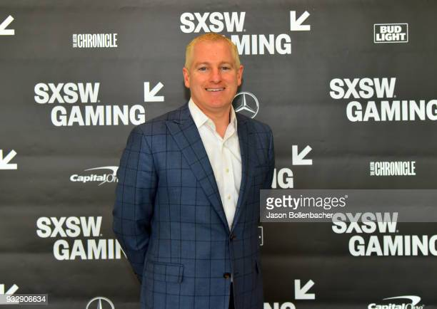 Brendan Donohue attends Hoops and Gaming Why the NBA Started an Esports League during SXSW at Austin Convention Center on March 16 2018 in Austin...