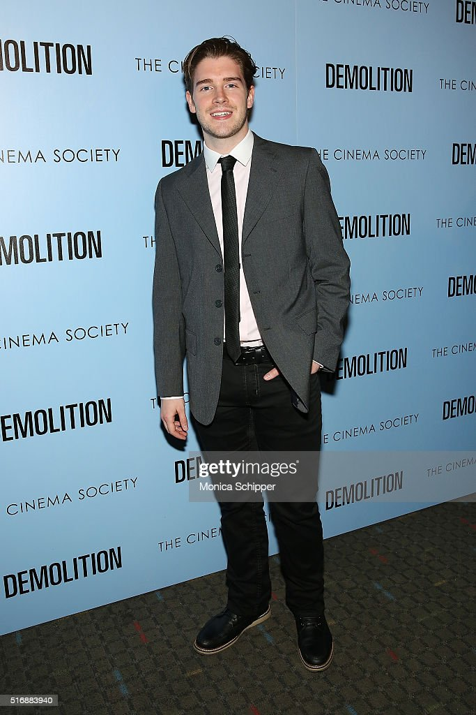 Brendan Dooling attends Fox Searchlight Pictures with The Cinema Society Host A Screening of 'Demolition' at SVA Theatre on March 21, 2016 in New York City.