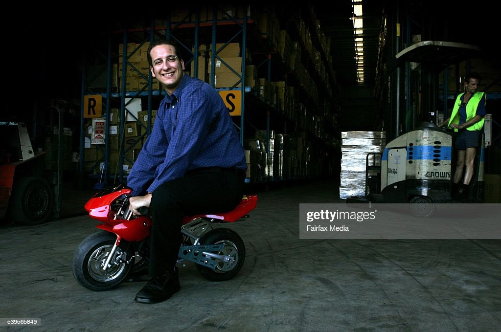 Brendan Elias Who Makes His Living Selling Stuff On Ebay Sitting On News Photo Getty Images