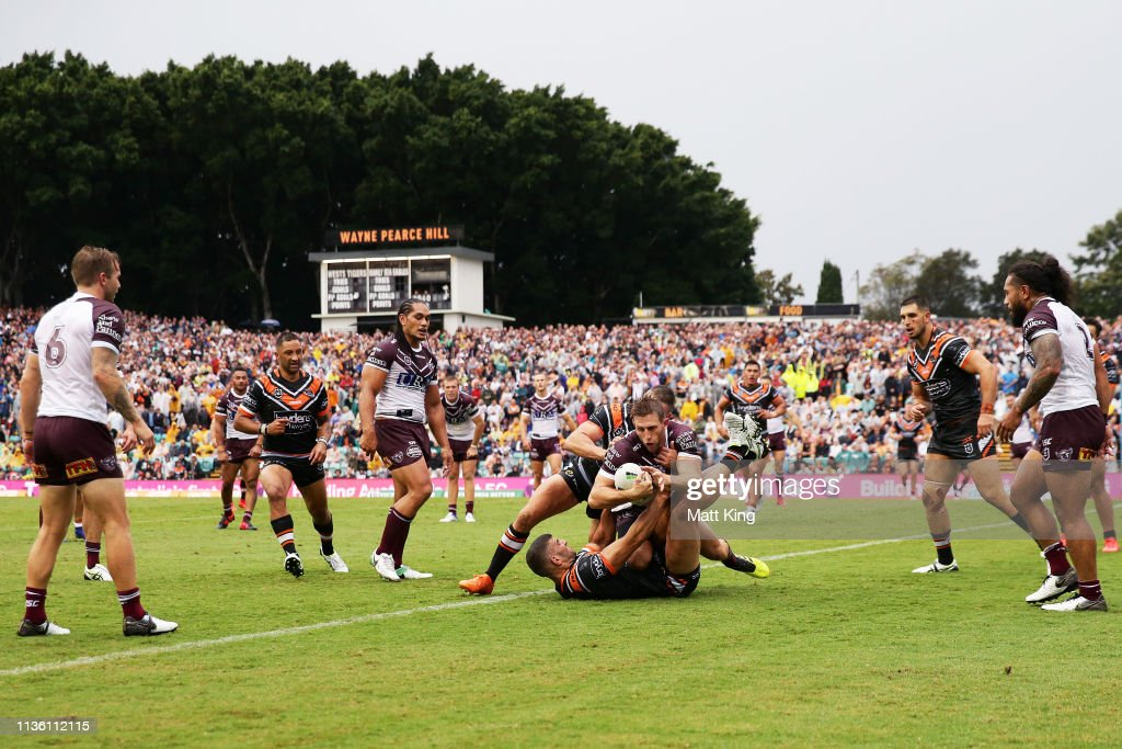 NRL Rd 1 - Wests Tigers v Sea Eagles : News Photo