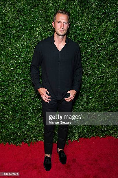 Brendan Fallis attends the Saks Downtown x Vogue event at Saks Downtown on September 8 2016 in New York City