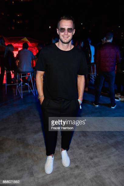 Brendan Fallis celebrates Miami Art Week at the American Express Platinum House at The Miami Beach EDITION on December 7 2017 in Miami Beach Florida