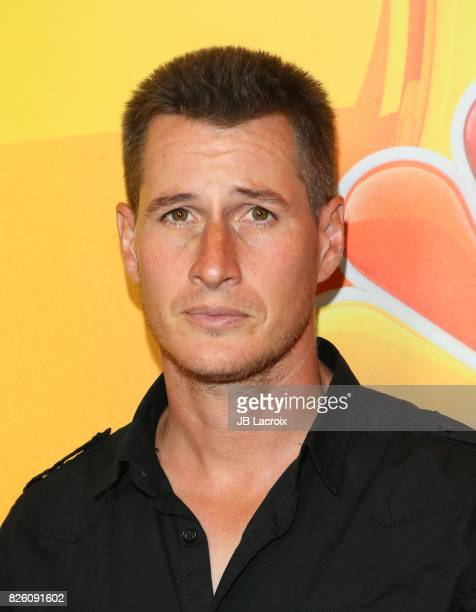 Brendan Fehr attends the 2017 Summer TCA Tour 'NBCUniversal Press Tour' on August 03 2017 in Los Angeles California