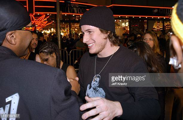 Brendan Fehr during Dreamworks Pictures 'Biker Boyz' at Manns Chinese Theater in Hollywood CA United States