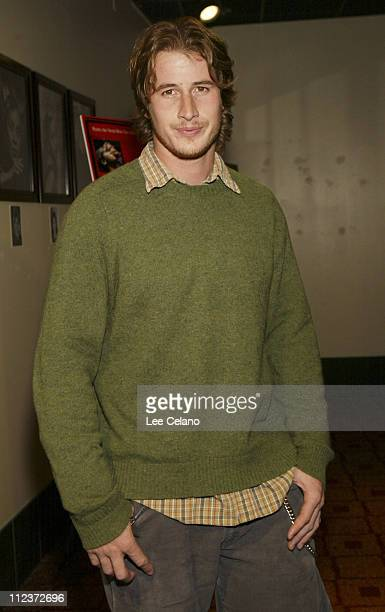 Brendan Fehr during 'Imaginary Heroes' Los Angeles Premiere Red Carpet at The Arclight in Los Angeles California United States