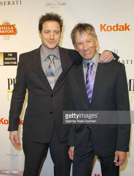 Brendan Fraser and Scott Glenn during 5th Annual Tribeca Film Festival Journey to the End of the Night After Party at PM Lounge in New York City New...