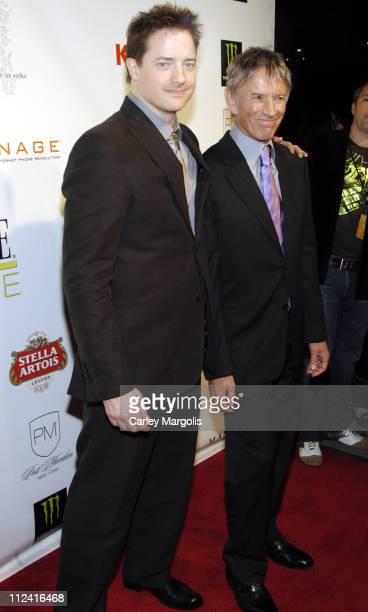 Brendan Fraser and Scott Glenn during 5th Annual Tribeca Film Festival Journey to the End of the Night Premiere After Party Premiere Film Music...