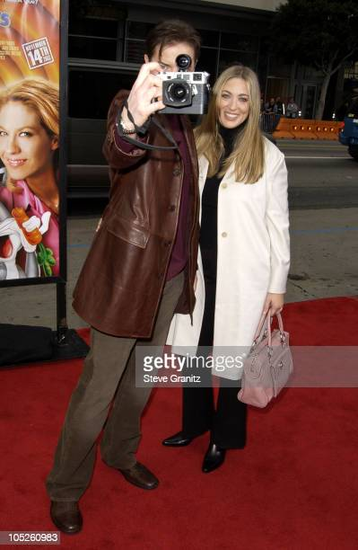 Brendan Fraser and Wife during The World Premiere of Looney Tunes Back in Action at Grauman's Chinese Theater in Hollywood California United States