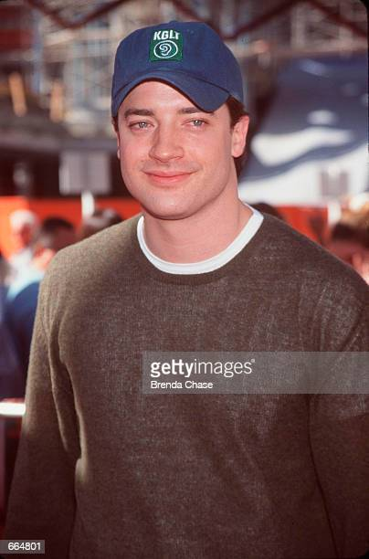 Brendan Fraser at the premiere of his new movie Dudley DoRight August 21 Universal City California